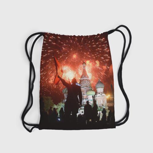 Рюкзак-мешок 3D  Фото 04, Салют на Красной площади