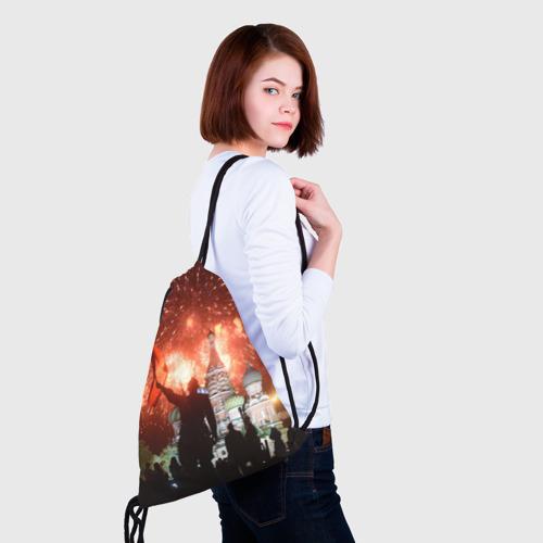 Рюкзак-мешок 3D  Фото 02, Салют на Красной площади
