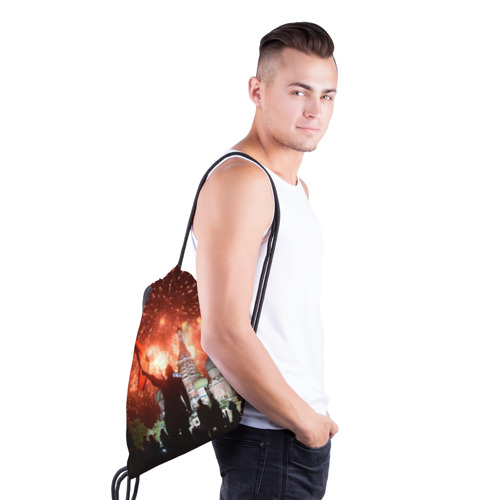 Рюкзак-мешок 3D  Фото 03, Салют на Красной площади
