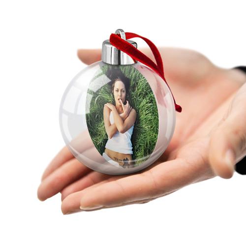 Ёлочный шар  Фото 02, Джоли Анджелина