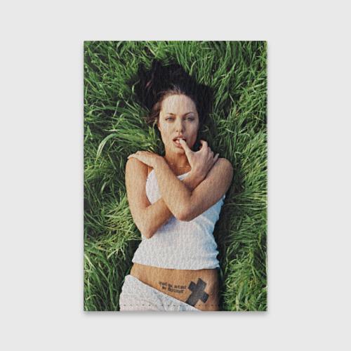 Обложка для паспорта матовая кожа  Фото 01, Джоли Анджелина