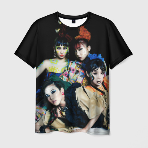 Мужская футболка 3D K-pop девушки
