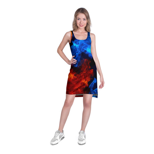 Платье-майка 3D Битва огней Фото 01