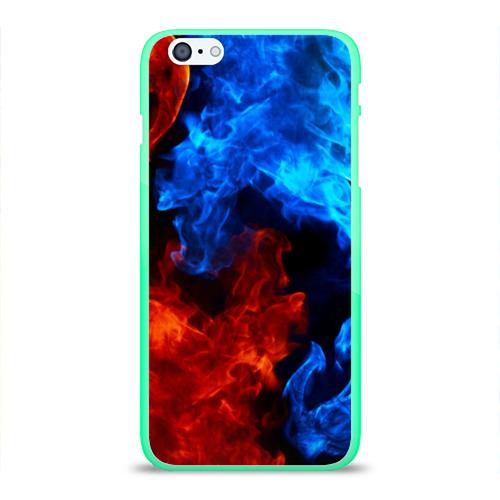 Чехол для iPhone 6Plus/6S Plus глянцевый Битва огней Фото 01