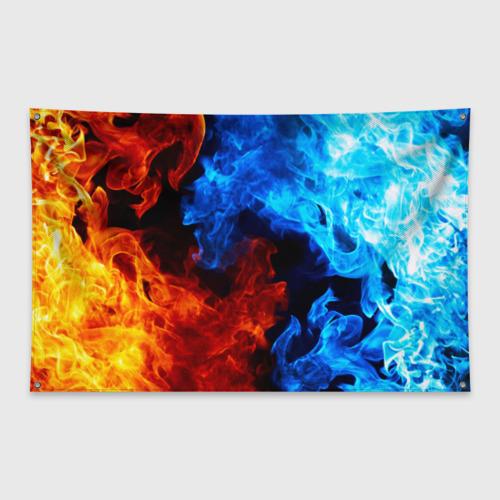 Флаг-баннер Битва огней Фото 01