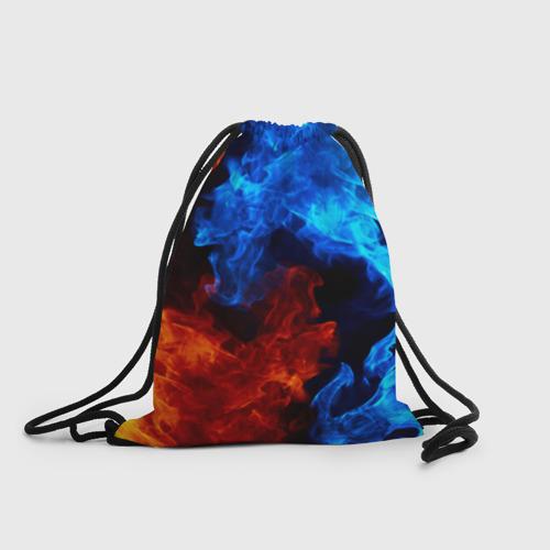 Рюкзак-мешок 3D Битва огней Фото 01