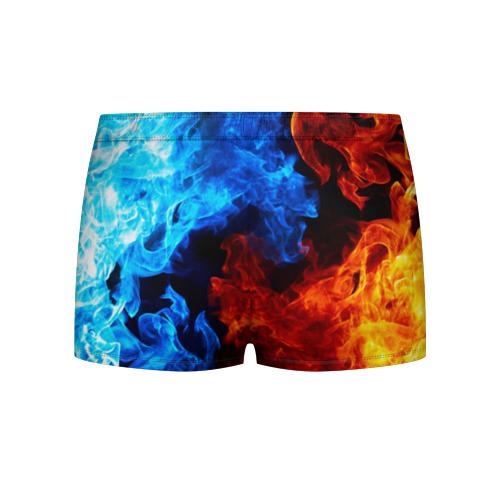 Мужские трусы 3D Битва огней Фото 01