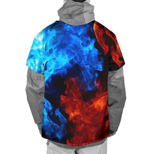 Накидка на куртку 3D Битва огней Фото 01