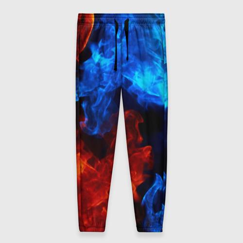 Женские брюки 3D Битва огней Фото 01