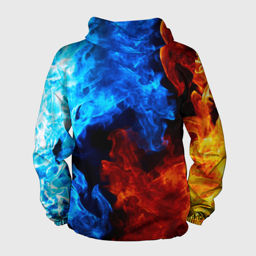 Мужская ветровка 3D Битва огней Фото 01
