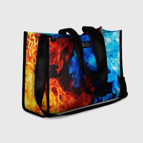 Сумка-шоппер 3D Битва огней Фото 01