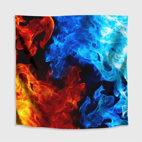 Скатерть 3D Битва огней Фото 01