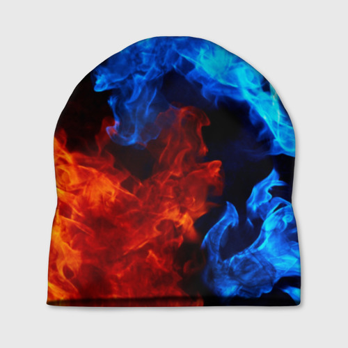 Шапка 3D Битва огней Фото 01