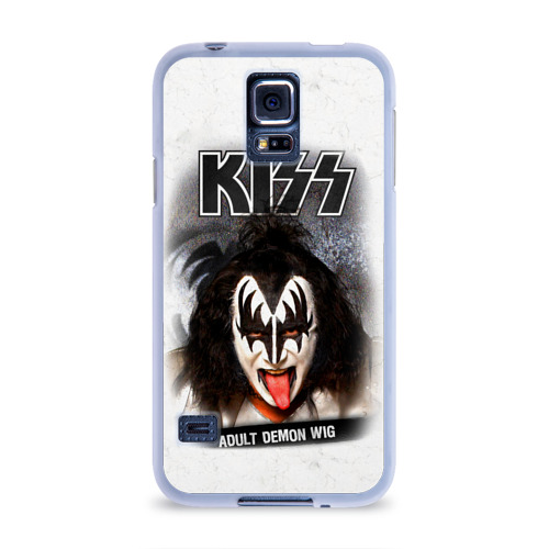 Чехол для Samsung Galaxy S5 силиконовый  Фото 01, KISS
