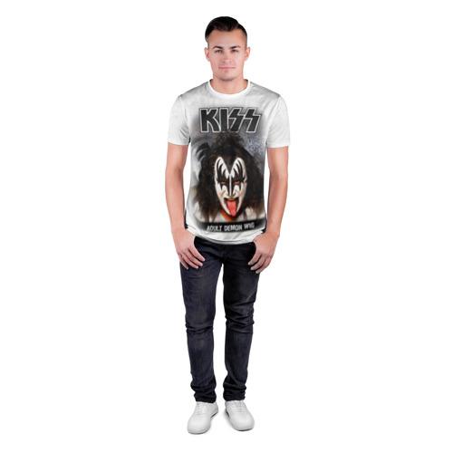Мужская футболка 3D спортивная  Фото 04, KISS