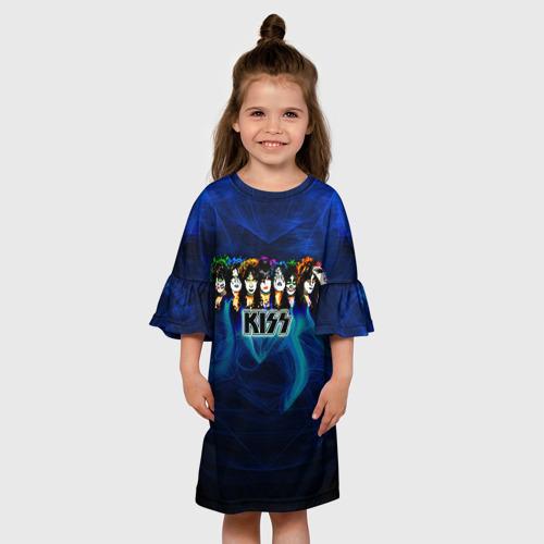 Детское платье 3D  Фото 01, KISS