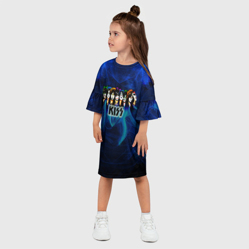 Детское платье 3D  Фото 03, KISS