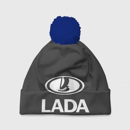 Шапка 3D c помпоном Lada Фото 01