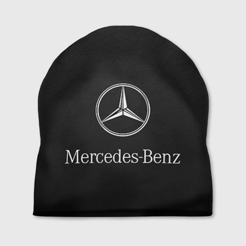 Шапка 3D Mercedes