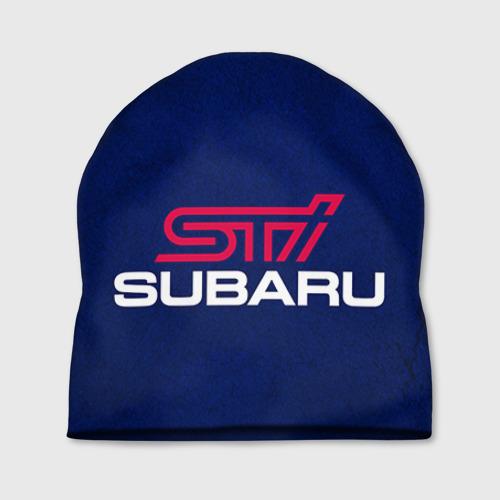 Шапка 3D  Фото 01, Subaru STI
