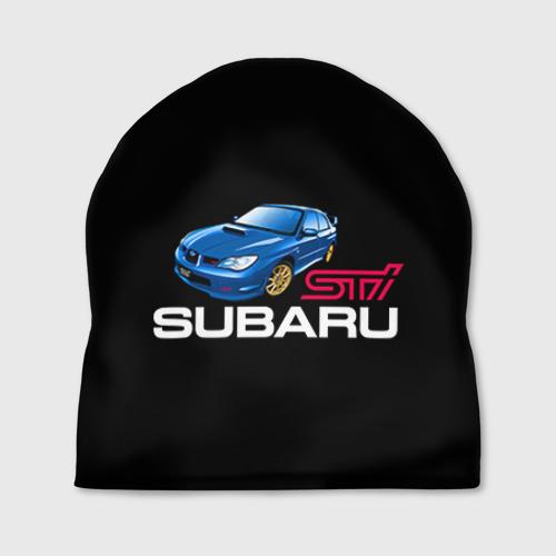 Шапка 3D Subaru STI