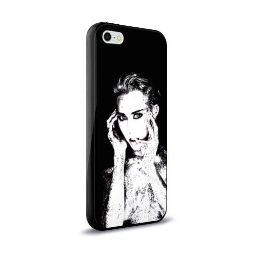 Чехол для Apple iPhone 5/5S силиконовый глянцевый  Фото 02, Miley