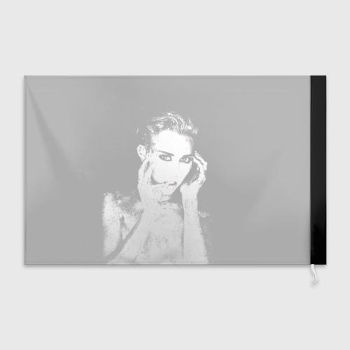 Флаг 3D Miley Фото 01