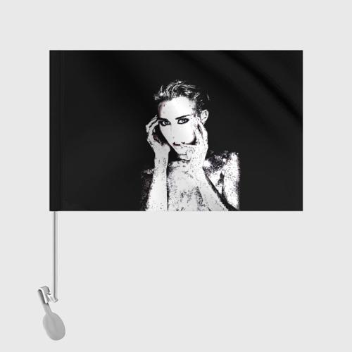 Флаг для автомобиля Miley Фото 01