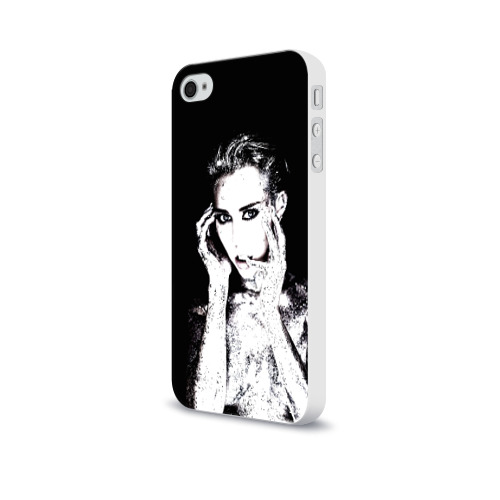Чехол для Apple iPhone 4/4S soft-touch  Фото 03, Miley