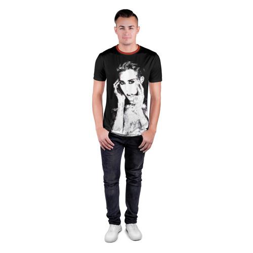 Мужская футболка 3D спортивная Miley Фото 01