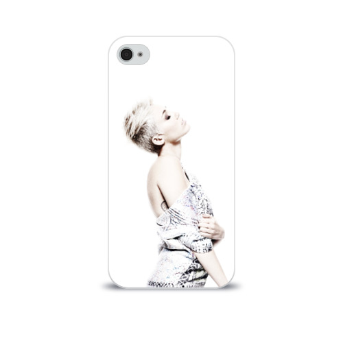 Чехол для Apple iPhone 4/4S soft-touch  Фото 01, Miley