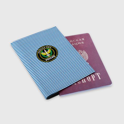 Обложка для паспорта матовая кожа  Фото 03, ПВО