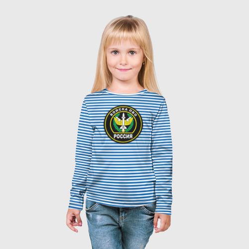 Детский лонгслив 3D  Фото 03, ПВО
