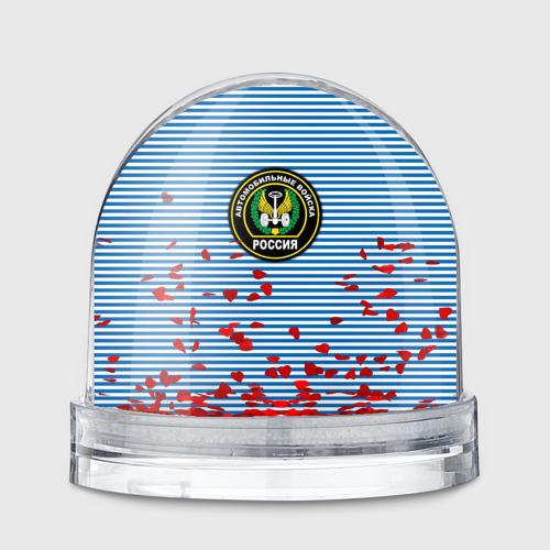 Водяной шар  Фото 01, Автомобильные войска