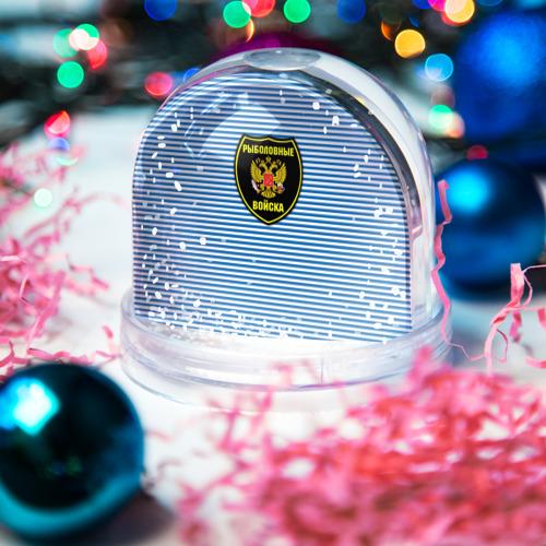 Снежный шар Рыболовные войска Фото 01