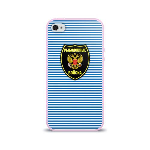 Чехол для Apple iPhone 4/4S силиконовый глянцевый Рыболовные войска Фото 01