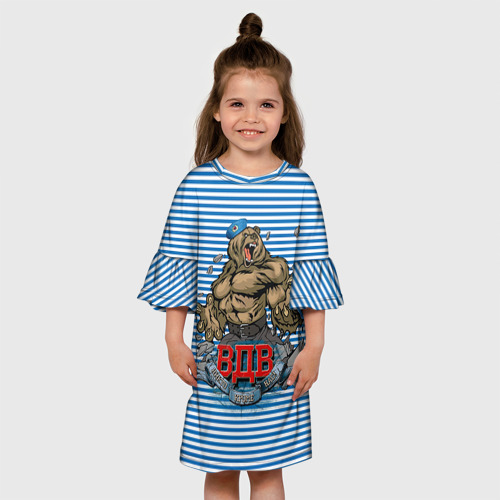 Детское платье 3D  Фото 01, ВДВ