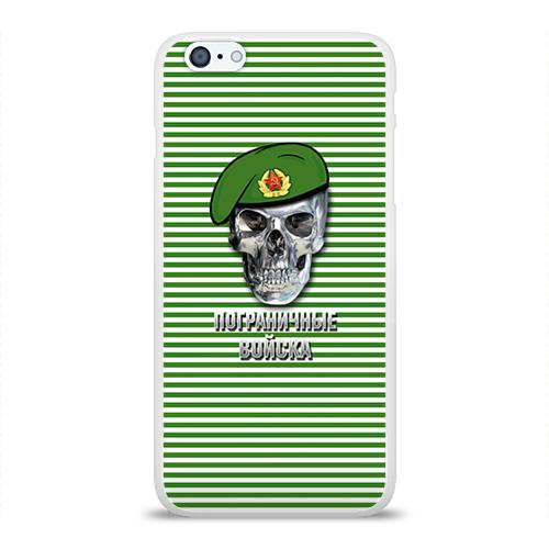 Чехол для Apple iPhone 6Plus/6SPlus силиконовый глянцевый  Фото 01, Погранвойска