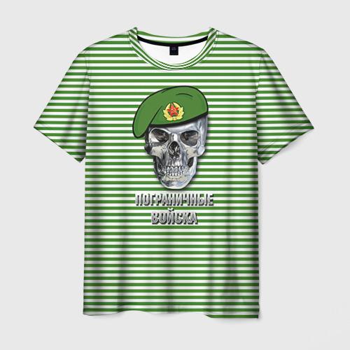 Мужская футболка 3D  Фото 03, Погранвойска