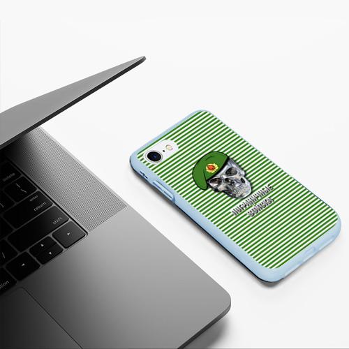 Чехол для iPhone 7/8 матовый Погранвойска Фото 01