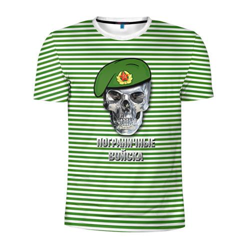 Мужская футболка 3D спортивная Погранвойска