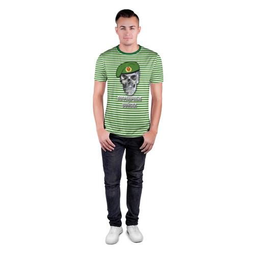 Мужская футболка 3D спортивная Погранвойска Фото 01