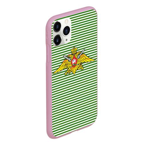 Чехол для iPhone 11 Pro Max матовый Погранвойска Фото 01