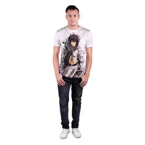 Мужская футболка 3D спортивная  Фото 04, Призрак