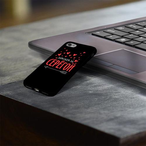 Чехол для Apple iPhone 8 силиконовый глянцевый Муж Сергей Фото 01