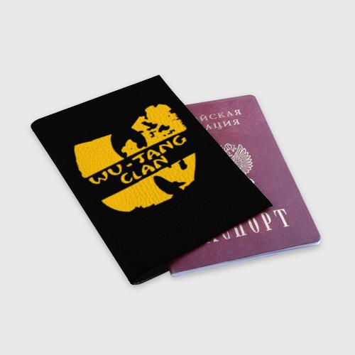 Обложка для паспорта матовая кожа  Фото 03, Wu Tang Clan