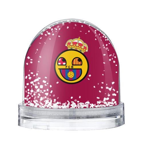 Водяной шар со снегом FCB smile
