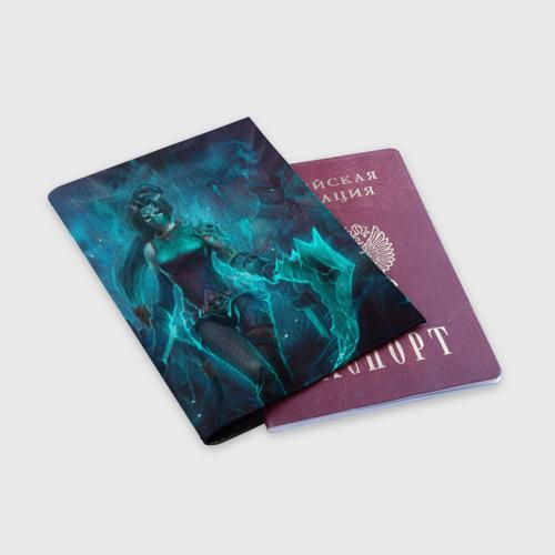 Обложка для паспорта матовая кожа  Фото 03, League of Legends