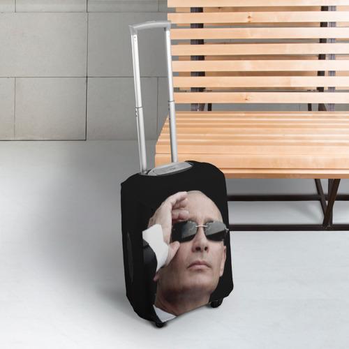 Чехол для чемодана 3D Путин Владимир Фото 01
