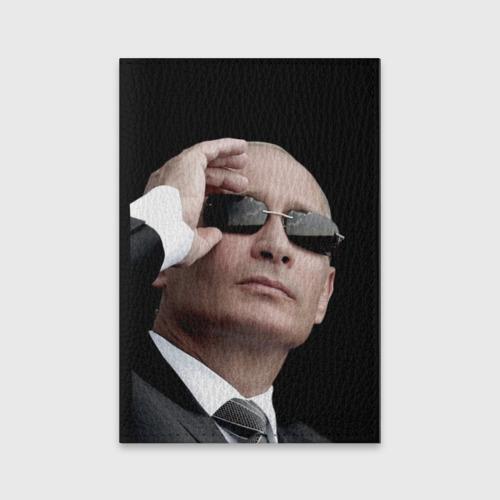 Обложка для паспорта матовая кожа  Фото 01, Путин Владимир